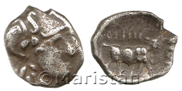 Dracma de Arse. Museion de We are Numismatics. Colección Maristán