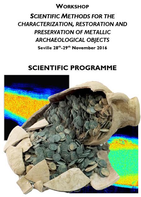 Encuentro científico en Sevilla sobre conservación y restauración de material arqueológico de metal