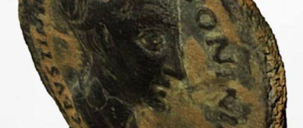 Fotogrametría de moneda en 3D elaborado por nuestros colegas de Hispania Arqueología y Patrimonio
