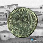 Nuevo modelo de moneda 3D: Radiado post reforma de Maximiano Hercúleo