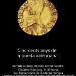 Conferencia: Quinientos años de moneda valenciana