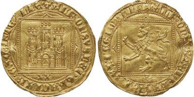 dobla 20 maravedis Alfonso XI